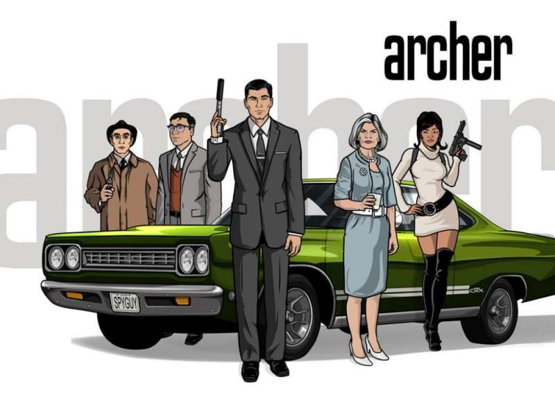 Archer tv serial animowany Seriale komediowe