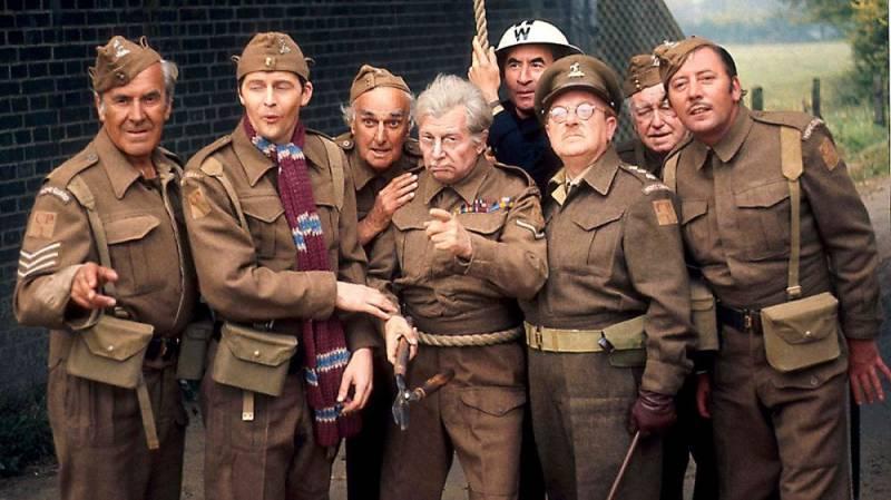 Armia tatuśka tv sitcom British seriale komediowe