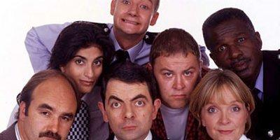 Cienka niebieska linia tv sitcom British seriale komediowe