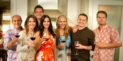 Cougar Town tv sitcom TV seriale komediowe - tv-sitcom