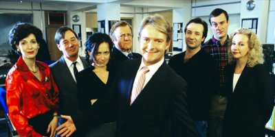 Drop the Dead Donkey tv sitcom British seriale komediowe