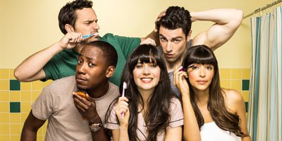 New Girl tv sitcom TV seriale komediowe - tv-sitcom