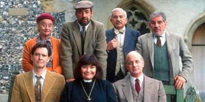 Pastor na obcasach tv sitcom British seriale komediowe