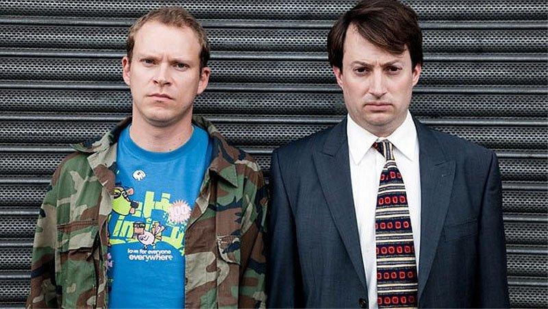 Peep Show tv sitcom British seriale komediowe