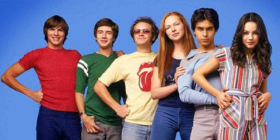 That '70s Show tv sitcom TV seriale komediowe - tv-sitcom