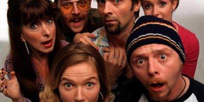 Spaced tv sitcom British seriale komediowe