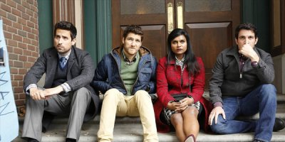 The Mindy Project tv sitcom TV seriale komediowe - tv-sitcom