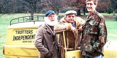 Only Fools and Horses tv sitcom TV seriale komediowe - tv-sitcom