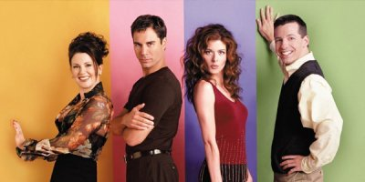 Will & Grace tv sitcom TV seriale komediowe - tv-sitcom