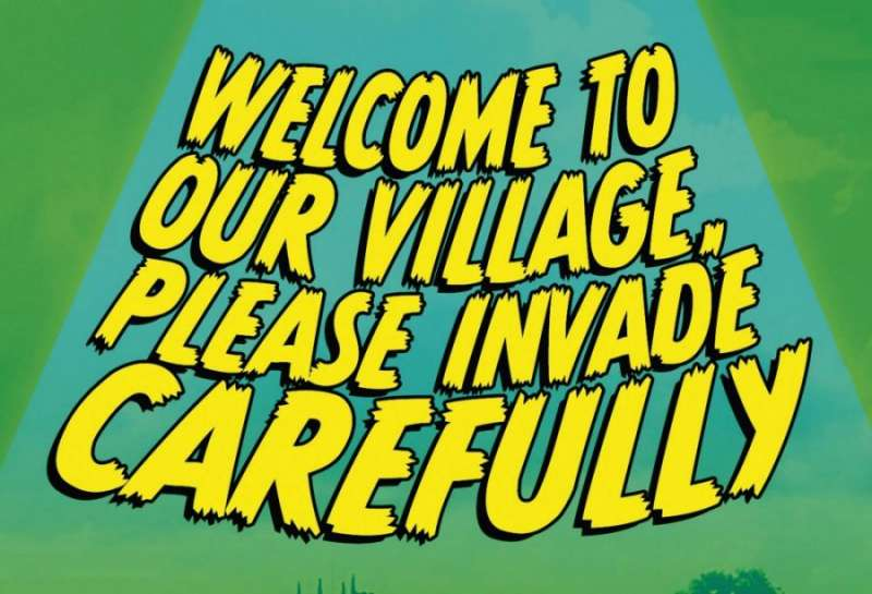 Welcome to Our Village, Please Invade Carefully radio seriale komediowe TV seriale komediowe - tv-sitcom