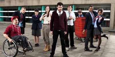 Bad Education tv sitcom TV seriale komediowe - tv-sitcom