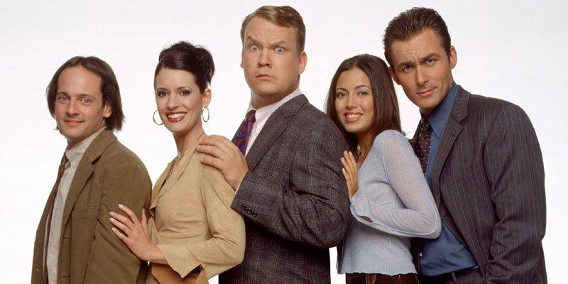 Andy Richter, władca wszechświata tv sitcom 2002