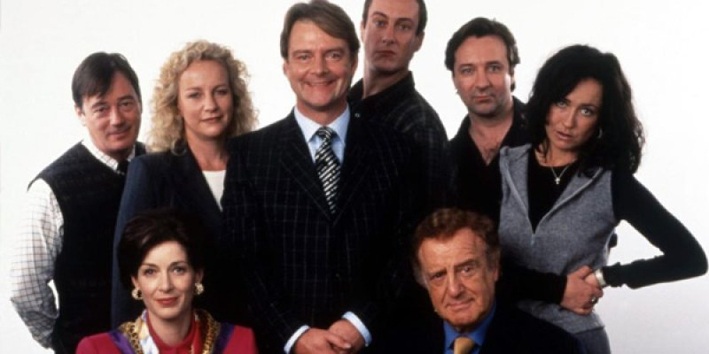 Drop the Dead Donkey tv sitcom 1998