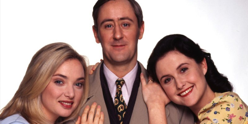 Goodnight Sweetheart tv sitcom 1999
