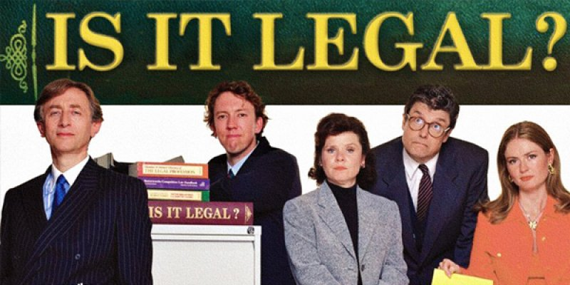 Is It Legal? tv sitcom 1998