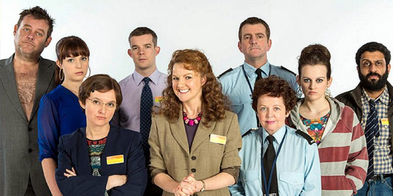 Job Lot tv sitcom 2015