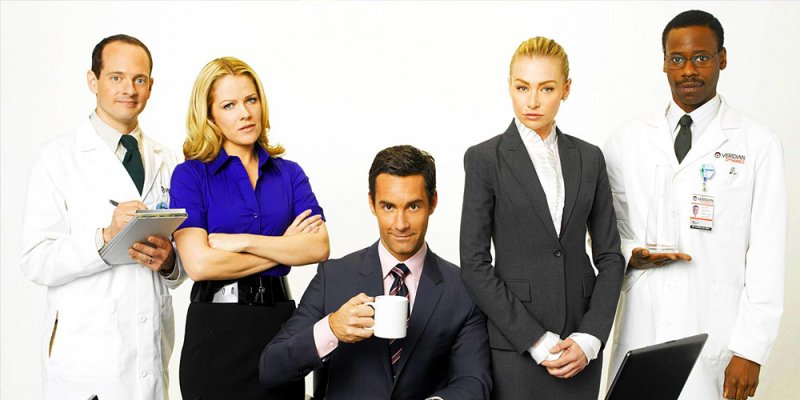 Korporacja według Teda tv sitcom 2010