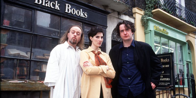 Księgarnia Black Books tv sitcom 2004