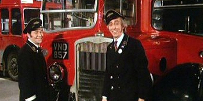 On the Buses tv sitcom 1973