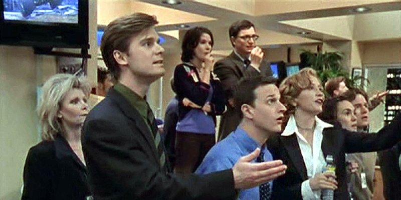 Redakcja sportowa tv sitcom 1999