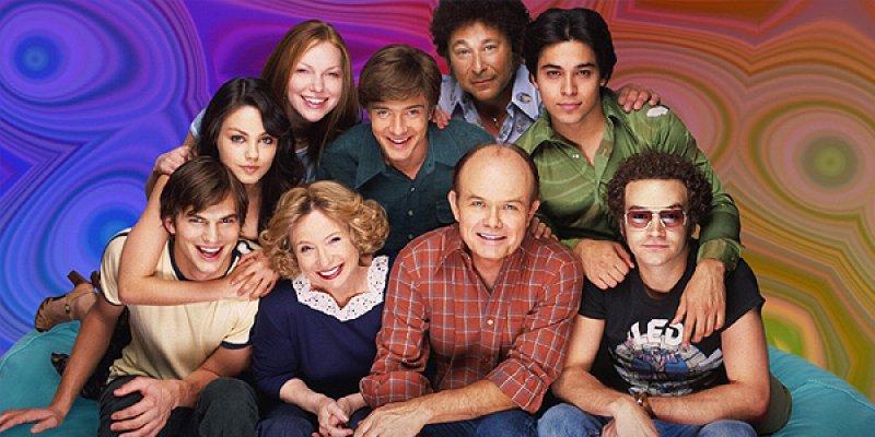 Różowe lata 70 tv sitcom 2005