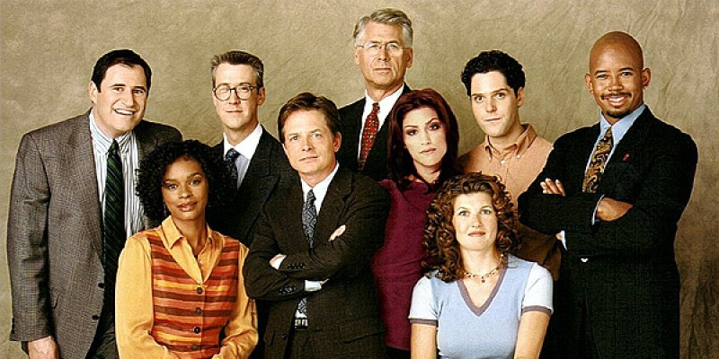 Spin City tv sitcom 2001