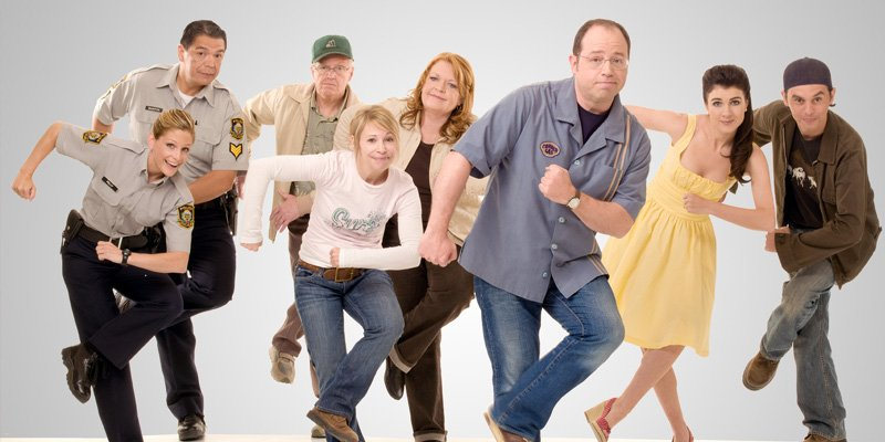 Stacja Corner Gas tv sitcom 2008