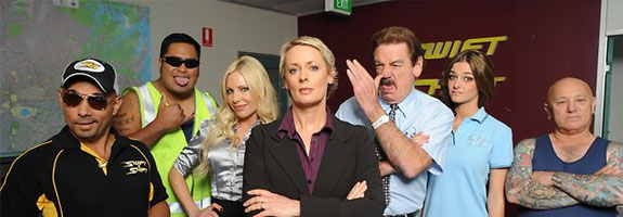 Swift and Shift Couriers tv sitcom 2011