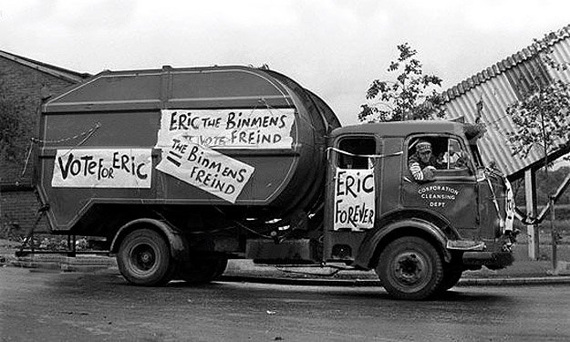 The Dustbinmen tv sitcom 1970