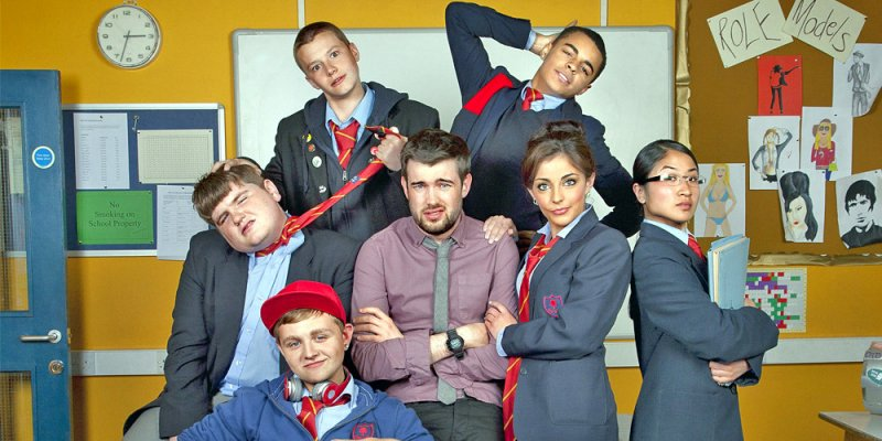 Złe wychowanie tv sitcom 2014